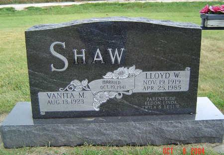 SHAW, LLOYD W. - Delaware County, Iowa | LLOYD W. SHAW