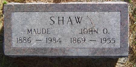 SHAW, JOHN O. - Delaware County, Iowa | JOHN O. SHAW