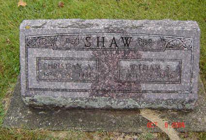SHAW, WILLIAM S. - Delaware County, Iowa | WILLIAM S. SHAW