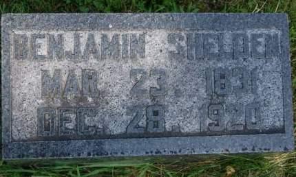 SHELDEN, BENJAMIN - Delaware County, Iowa | BENJAMIN SHELDEN