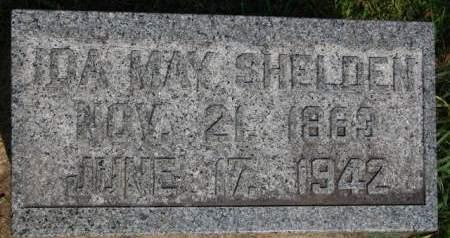 SHELDEN, IDA MAY - Delaware County, Iowa | IDA MAY SHELDEN