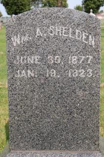 SHELDEN, WM. A. - Delaware County, Iowa | WM. A. SHELDEN