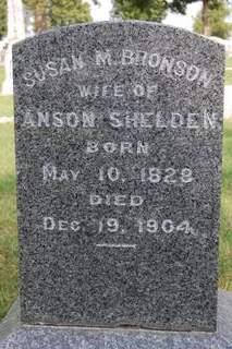 BRONSON SHELDON, SUSAN M. - Delaware County, Iowa   SUSAN M. BRONSON SHELDON