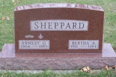 TRAVER SHEPPARD, BERTHA ALICE - Delaware County, Iowa | BERTHA ALICE TRAVER SHEPPARD