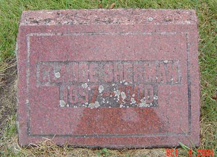 SHERMAN, CLAUDE - Delaware County, Iowa | CLAUDE SHERMAN