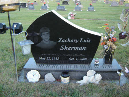 SHERMAN, ZACHARY LUIS - Delaware County, Iowa | ZACHARY LUIS SHERMAN