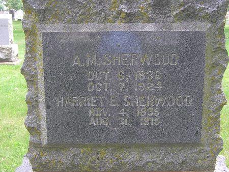 SHERWOOD, NARRIET E. - Delaware County, Iowa | NARRIET E. SHERWOOD