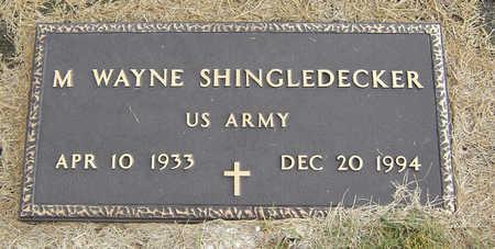 SHINGLEDECKER, M. WAYNE - Delaware County, Iowa | M. WAYNE SHINGLEDECKER