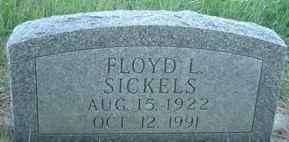 SICKELS, FLOYD L. - Delaware County, Iowa | FLOYD L. SICKELS