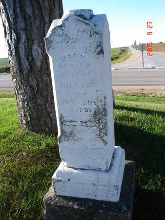 DICKSON SIMONS, JANE - Delaware County, Iowa | JANE DICKSON SIMONS