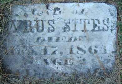LEE SITES, NANCY JANE - Delaware County, Iowa | NANCY JANE LEE SITES