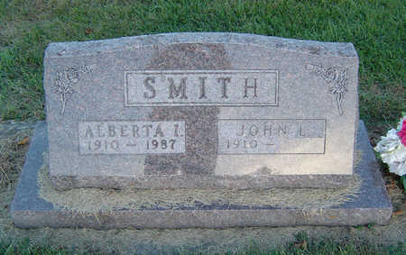 SMITH, ALBERTA ISABELLE - Delaware County, Iowa | ALBERTA ISABELLE SMITH