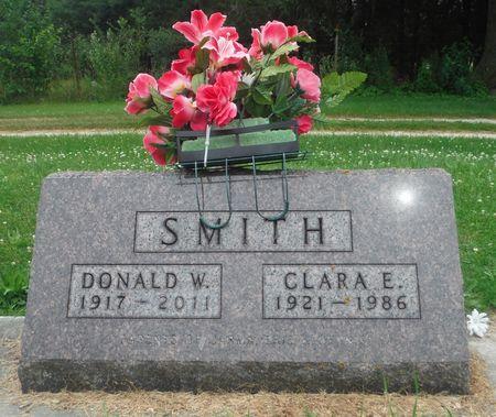 EHNE SMITH, CLARA E. - Delaware County, Iowa   CLARA E. EHNE SMITH