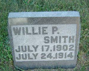 SMITH, WILLIE P. - Delaware County, Iowa   WILLIE P. SMITH