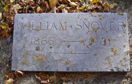 SNOVER, WILLIAM - Delaware County, Iowa   WILLIAM SNOVER