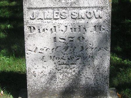 SNOW, JAMES - Delaware County, Iowa | JAMES SNOW