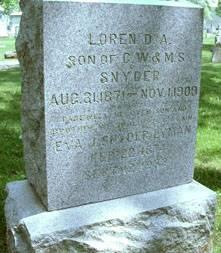 SNYDER, LOREN D.A. - Delaware County, Iowa | LOREN D.A. SNYDER
