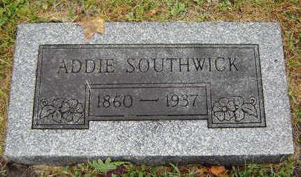 SOUTHWICK, ADDIE - Delaware County, Iowa   ADDIE SOUTHWICK