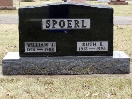WILLIAMS SPOERL, RUTH E. - Delaware County, Iowa   RUTH E. WILLIAMS SPOERL