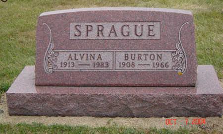 MOSER SPRAGUE, ALVINA - Delaware County, Iowa   ALVINA MOSER SPRAGUE