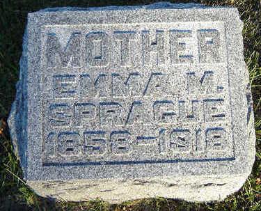 SPRAGUE, EMMA M. - Delaware County, Iowa | EMMA M. SPRAGUE
