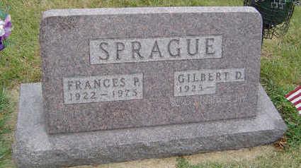 TALAPARSE SPRAGUE, FRANCES P. - Delaware County, Iowa   FRANCES P. TALAPARSE SPRAGUE