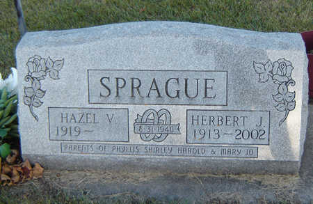 PETERMAN SPRAGUE, HAZEL V. - Delaware County, Iowa | HAZEL V. PETERMAN SPRAGUE
