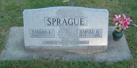 SPRAGUE, HAROLD H. - Delaware County, Iowa | HAROLD H. SPRAGUE