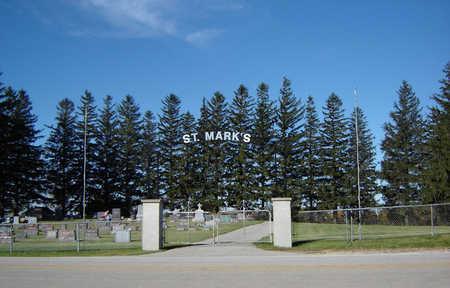 ST. MARK'S, CEMETERY - Delaware County, Iowa   CEMETERY ST. MARK'S