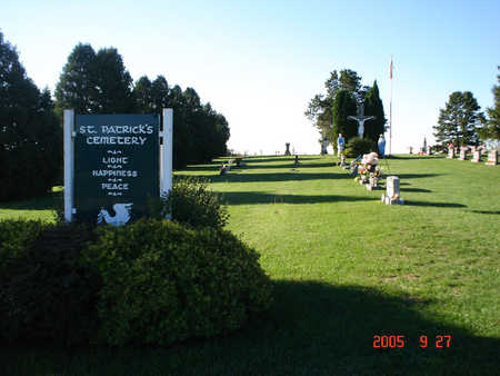 ST. PATRICK'S, CEMETERY - Delaware County, Iowa | CEMETERY ST. PATRICK'S