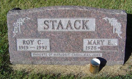 STAACK, MARY E. - Delaware County, Iowa | MARY E. STAACK
