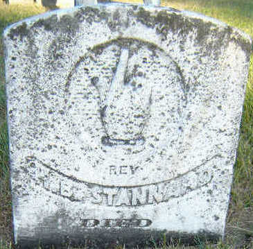 STANNARD, REV. H. B. - Delaware County, Iowa | REV. H. B. STANNARD