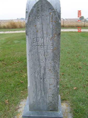 STEELE, EDWIN - Delaware County, Iowa   EDWIN STEELE