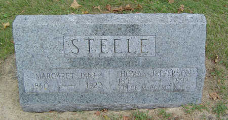 STEELE, THOMAS JEFFERSON - Delaware County, Iowa | THOMAS JEFFERSON STEELE