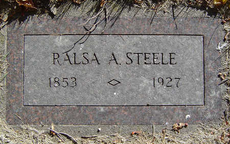 STEELE, RALSA A. - Delaware County, Iowa | RALSA A. STEELE