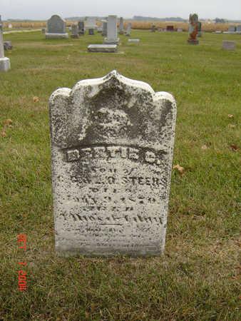 STEERS, BERTIE C. - Delaware County, Iowa   BERTIE C. STEERS