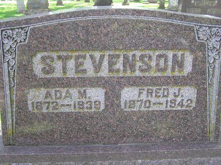 STEVENSON, FRED J. - Delaware County, Iowa | FRED J. STEVENSON