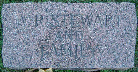 STEWART, W. R. - Delaware County, Iowa | W. R. STEWART