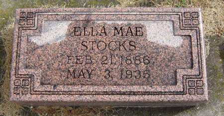 DURFEY STOCKS, ELLA MAE - Delaware County, Iowa | ELLA MAE DURFEY STOCKS