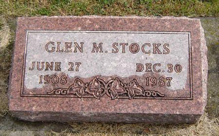 STOCKS, GLEN M. - Delaware County, Iowa | GLEN M. STOCKS