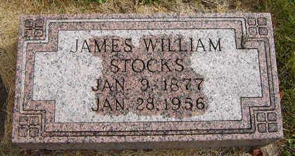 STOCKS, JAMES WILLIAM - Delaware County, Iowa | JAMES WILLIAM STOCKS