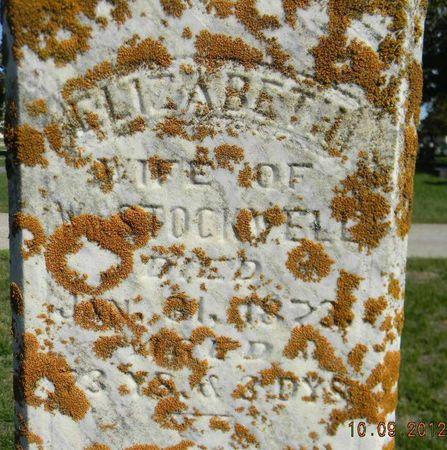 STOCKWELL, ELIZABETH - Delaware County, Iowa | ELIZABETH STOCKWELL