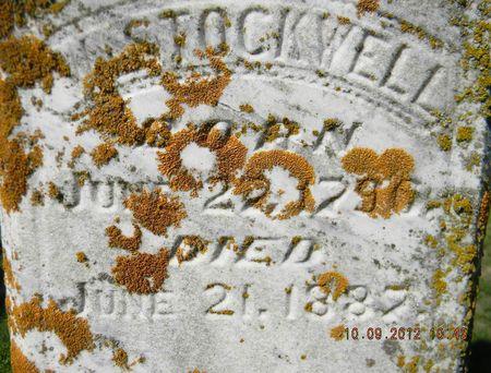 STOCKWELL, WILLIAM - Delaware County, Iowa   WILLIAM STOCKWELL