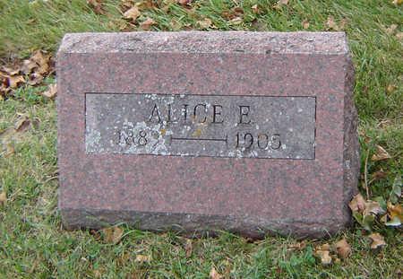 STONE, ALICE E. - Delaware County, Iowa | ALICE E. STONE
