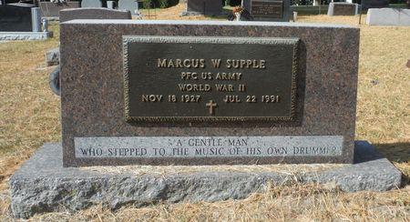 SUPPLE, MARCUS W. - Delaware County, Iowa   MARCUS W. SUPPLE