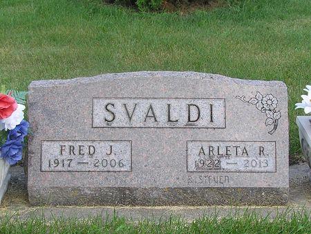 SVALDI, FRED J. - Delaware County, Iowa | FRED J. SVALDI