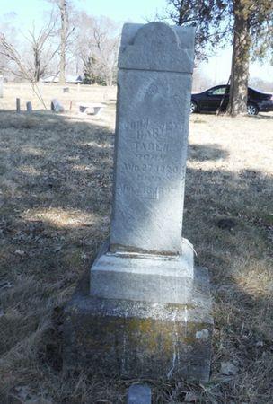 TABER, JOHN HARVEY - Delaware County, Iowa | JOHN HARVEY TABER
