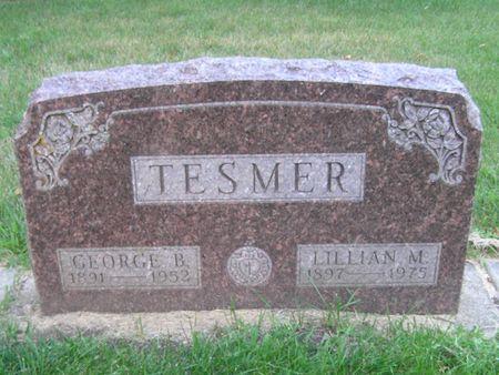 TESMER, GEORGE B. - Delaware County, Iowa | GEORGE B. TESMER