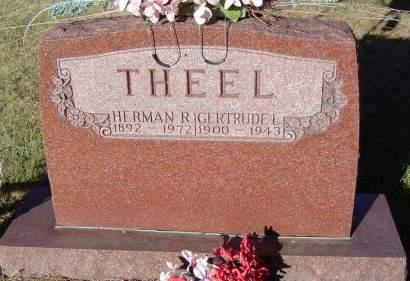 THEEL, GERTRUDE L. - Delaware County, Iowa | GERTRUDE L. THEEL