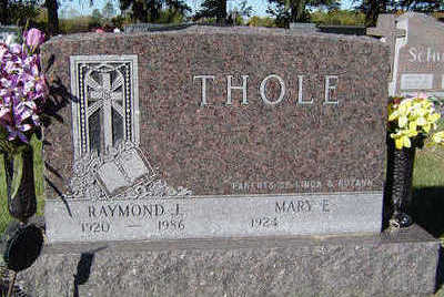 THOLE, RAYMOND J. - Delaware County, Iowa | RAYMOND J. THOLE